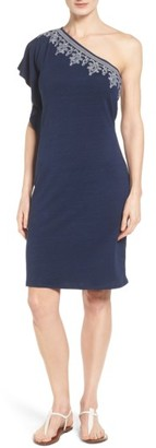 Women's Tommy Bahama Lovelin One-Shoulder Dress $158 thestylecure.com