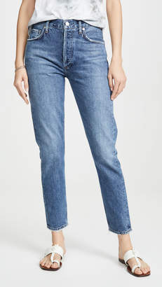 A Gold E AGOLDE Jamie High Rise Classic Jeans