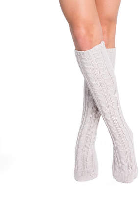 Muk Luks 1pr Cable Knee High Socks