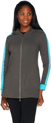 Linea By Louis Dell'olio Leisure by Louis Dell'Olio Zip Front Hoodie