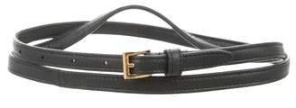 Prada Skinny Waist Belt