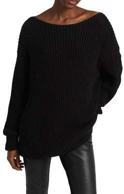 French Connection Millie Mozart Long-Sleeve Cotton Sweater