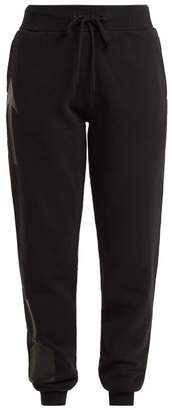 The Upside Black Side Arrow Track Pants - Womens - Black