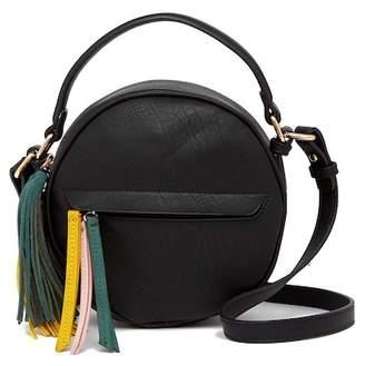 Shiraleah Stevie Round Vegan Leather Crossbody Bag