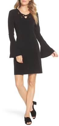 MICHAEL Michael Kors Grommet Laced Sheath Dress