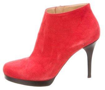Balenciaga Balenciaga Suede Ankle Boots