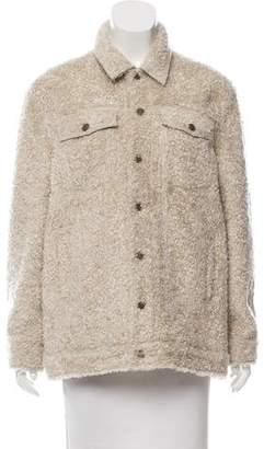 Current/Elliott Teddy Faux Fur Jacket