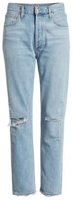 A Gold E AGOLDE Jamie High Waist Classic Jeans