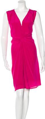 Reiss Silk Midi Dress $115 thestylecure.com