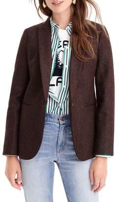J.Crew Parke Herringbone Wool Blazer