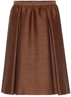 Bottega Veneta Wool and silk skirt