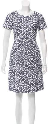 Peserico Printed Knee-Length Dress w/ Tags