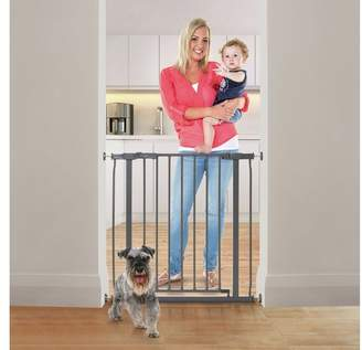 Dream Baby Dreambaby Ava Pressure Fit Safety Gate - Grey