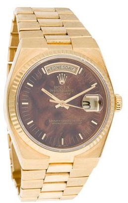 Rolex Day-Date Watch $7,595 thestylecure.com