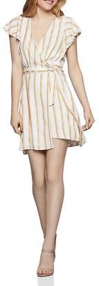 BCBGeneration Striped Wrap Dress - 100% Exclusive