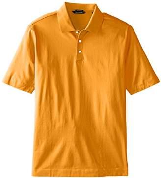 Cutter & Buck Men's Big-Tall Warrick Mercerized Luxury Solid Polo Shirt,2X/Tall