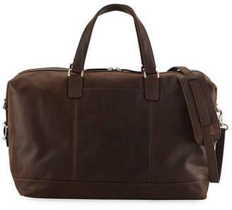 Frye Men's Oliver Suede Overnight Bag