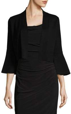 Calvin Klein Bell-Sleeve Cropped Cardigan