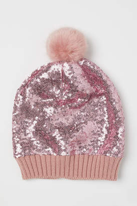H&M Sequined Hat