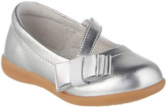 L'amour Slanted Strap Leather Mary Jane