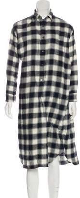 Junya Watanabe Long Sleeve Midi Dress