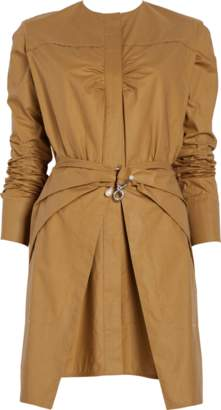 Carven Poplin Wrap Dress
