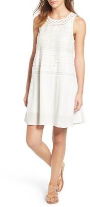 Women's Hinge Lace Shift Dress $89 thestylecure.com