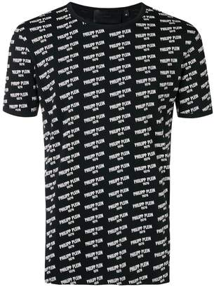 Philipp Plein logo print crewneck T-shirt