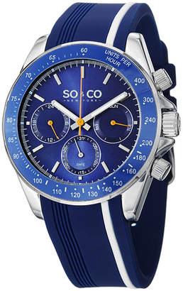 Co SO & So & Mens Blue Strap Watch-Jp15087