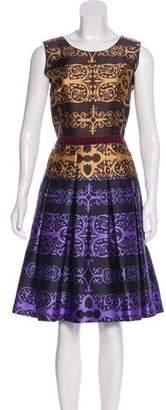 Sophie Theallet Printed Silk Dress