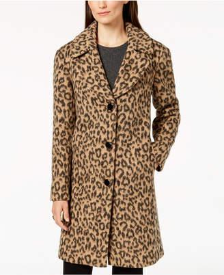 Kate Spade Leopard-Print Coat