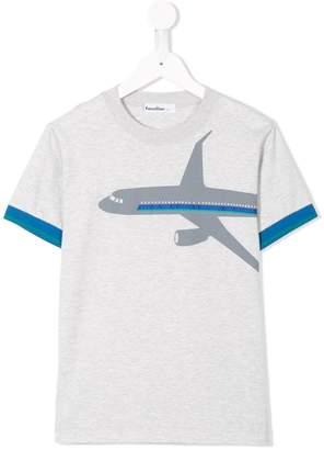 Familiar airplane T-shirt