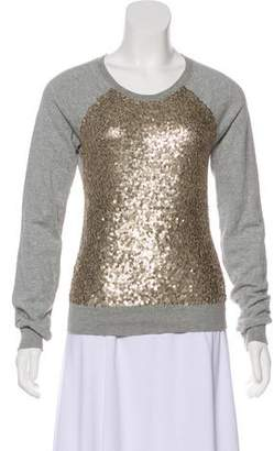 Elizabeth and James Sequin Embellished Sweater