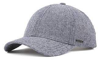 HUGO BOSS Melange cap in cotton with linen 323c1d3c7aa0