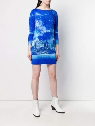 Just Cavalli night sky dress