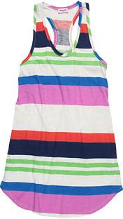 Splendid Littles Neon Variegated Stripe Tank Top