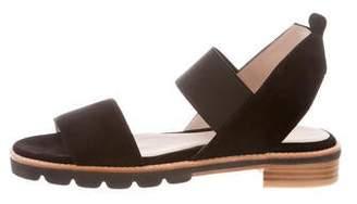 Stuart Weitzman Topical Suede Sandals