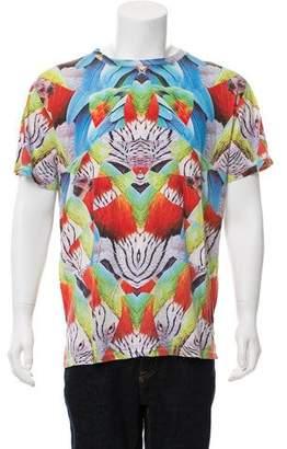 Marcelo Burlon County of Milan Printed Short Sleeve T-Shirt