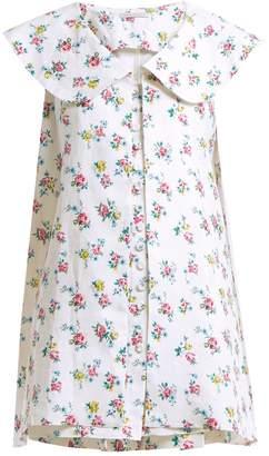 Emilia Wickstead Jonas floral-print sleeveless jacket