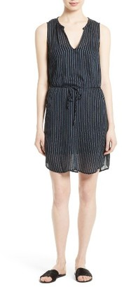 Women's Soft Joie Bonnie Print Tie Waist Dress $178 thestylecure.com