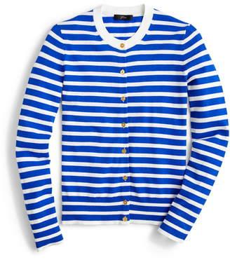 J.Crew Jackie Stripe Cardigan Sweater
