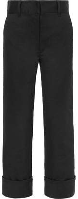 Prada - Straight-leg Twill Pants - Black