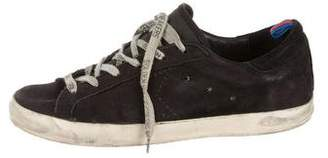 Golden Goose Suede Low-Top Sneakers
