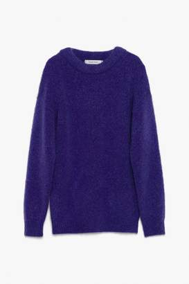 Genuine People Mohair Crewneck Sweater