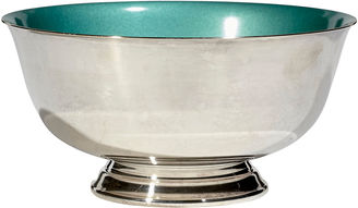 Footed Reed & Barton Enameled Bowl