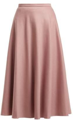 Max Mara Cabras Skirt - Womens - Light Pink