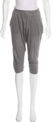 Helmut Lang High-Rise Linen Pants