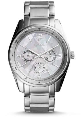 Fossil Justine Multifunction Stainless Steel Watch