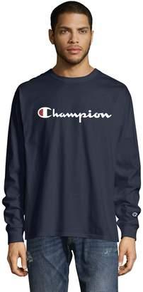 Champion Men's Chest-Logo Tee