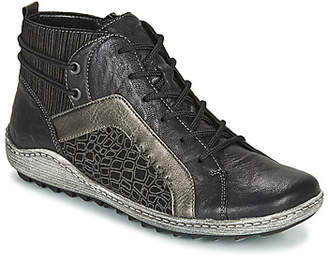 Remonte Dorndorf R1499-04 women's Shoes (High-top Trainers) in Black